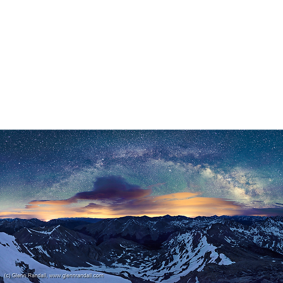 Milky Way Panorama from Huron Peak
