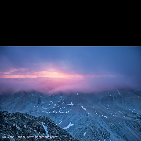 Sunrise from Blanca Peak