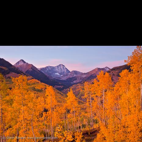 Twilight Glow on Capitol Peak