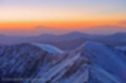 Sunrise from Grays Peak, Arapaho National Forest, Colorado