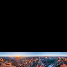 Mt. Eolus Panorama