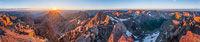 Mt. Eolus Panorama, Weminuche Wilderness, Colorado