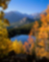 Longs Peak from Bear Lake in Autumn, Rocky Mountain National Park, Colorado