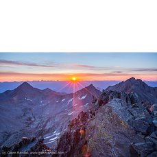Sunrise from El Diente