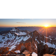 Sunrise from Mt. Wilson