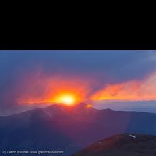 Sunrise from Mt. Columbia