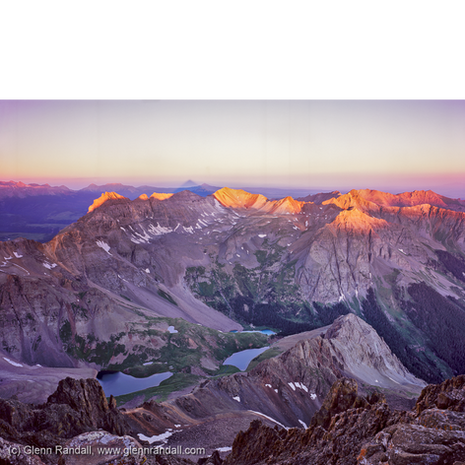 Sunrise from Mt. Sneffels