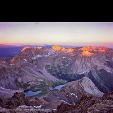 Sunrise from Mt. Sneffels