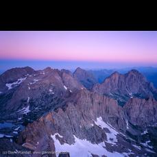 Twilight Wedge from Sunlight Peak