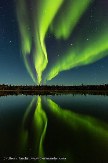 Big Dipper Aurora, Prosperous Lake Territorial Park, Northwest Territories, Canada