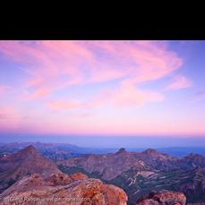 Sunrise from Uncompahgre Peak