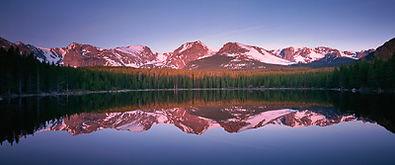 Bierstadt Lake Panorama, Rocky Mountain National Park, Colorado