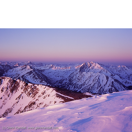 Sunrise from Mt. Elbert