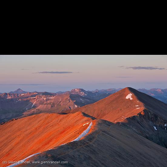 Sunrise from Redcloud Peak