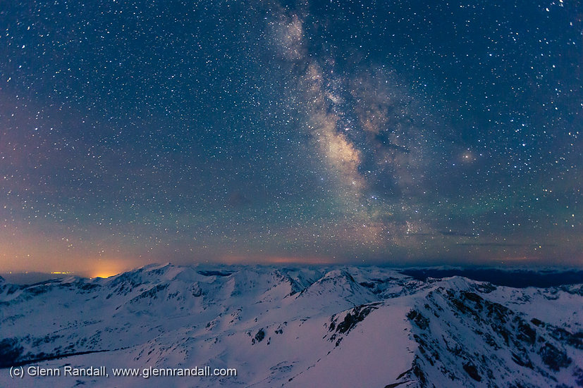 Milky Way from Missouri Mountain, Collegiate Peaks Wilderness, Colorado
