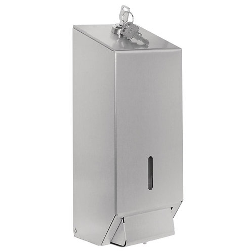 Jantex Stainless Steel Soap Dispenser 1 Litre