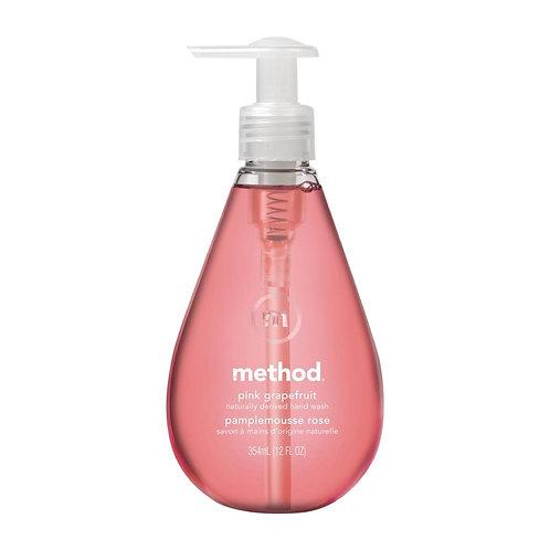 Method Perfumed Liquid Hand Soap Pink Grapefruit 354ml (6 Pack)
