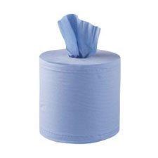 Jantex Centrefeed Blue Rolls