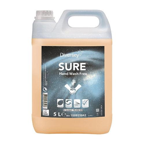 SURE Unperfumed Liquid Hand Wash 5Ltr (2 Pack)