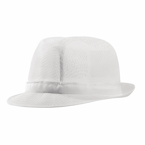 Trilby Hat White