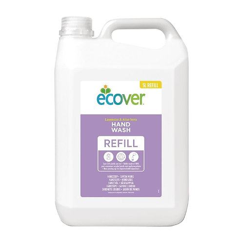 Ecover Perfumed Liquid Hand Soap Lavender 5Ltr (4 Pack)