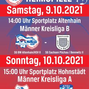 Fußballheimspiele: Püchau und Wurzen zu Gast