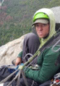 Climbing on El Cap