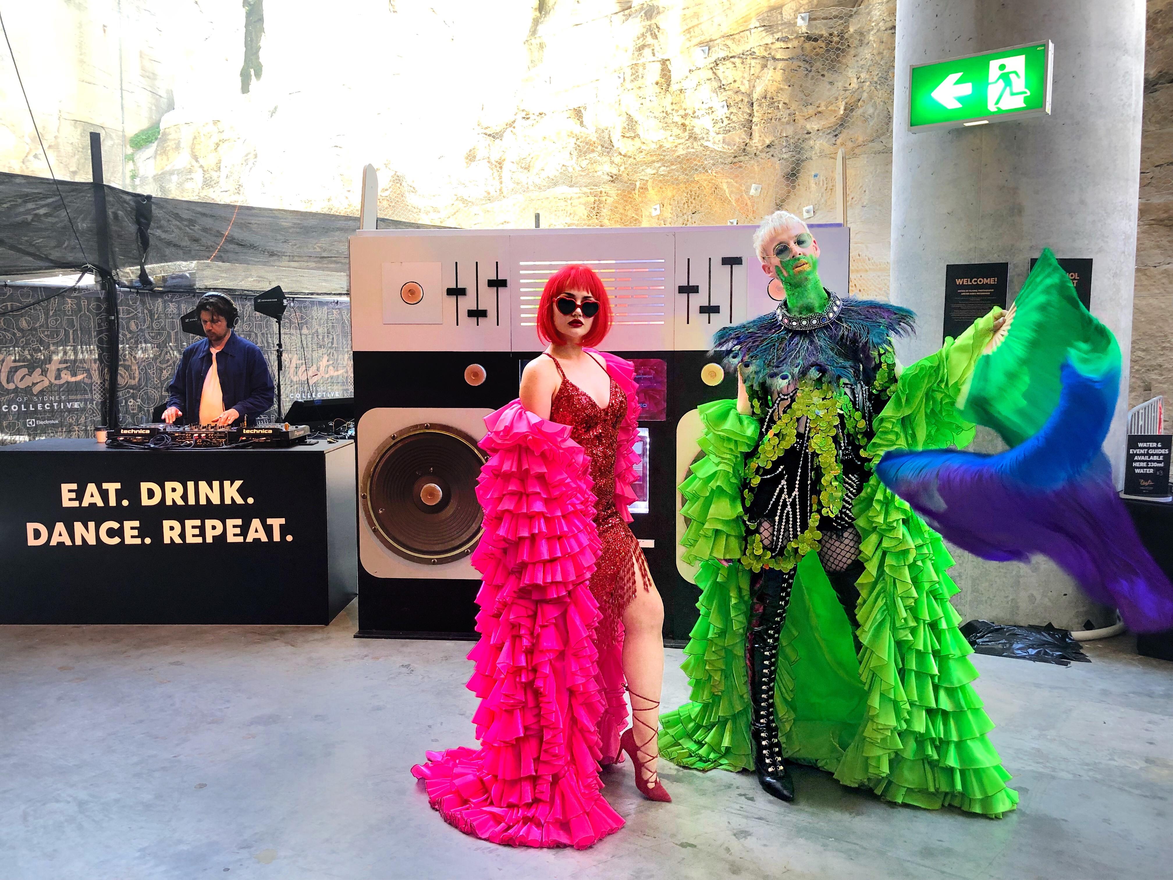 Rihanna Slime Taste Festival 2