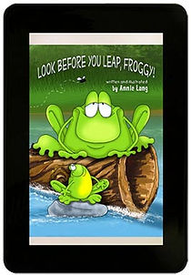 Annie Lang's Look Before You Leap Froggy! Kindle E-Book