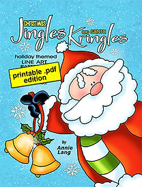Annie Lang's Jingle Bells and Santa Kringles .pdf pattern book