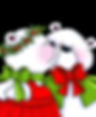 Christmas Smooching Bears