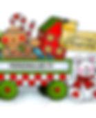 Sweet Smiles Christmas Wagon