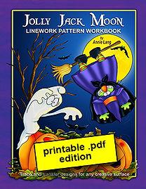 Jolly Jack Moon Linework Pattern Book PDF