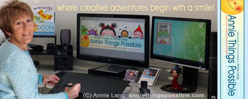 Artist,/Author/Designer/Illustrator Annie Lang character art profile