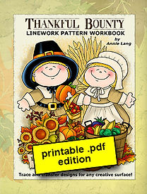 Thankful Bounty Linework Pattern Book PDF