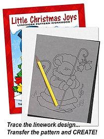 Annie Lang's Little Christmas Joys Linework Patterns