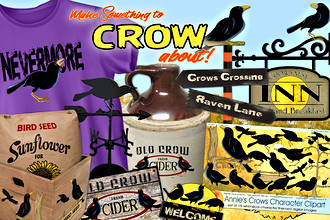 Crows Clipart
