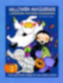 Halloween Masquerade Linework Pattern Book Sample Page