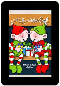 Annie Lang's A Little Elf from Another Shelf Kindle version