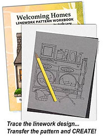 Welcoming Homes Linework Pattern Sample Page