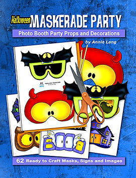 Annie Lang'sHalloween Maskerade Party Printed Paperback edition