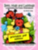 Bees, Hugs & LadyBugs Linework Pattern PDF