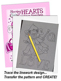 Annie Lang's Sharing Smiles and Loving Hearts Patterns