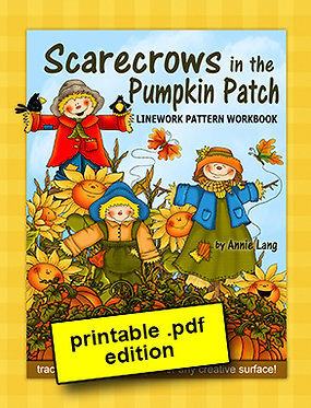 Scarecrows in the Pumpkin Patch