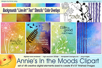 Moods Clipart