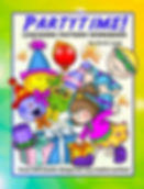 Partytime! Linework Pattern Book Cover