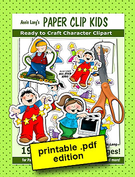 Annie Lang's Paper Clip Kids Papercraft Activity Book PDF
