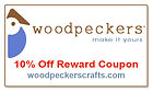Woodpeckers Crafts Coupon