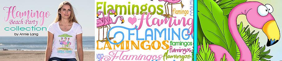 Flamingo Collection Header