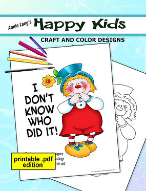 Happy Kids Craft and Color Designs